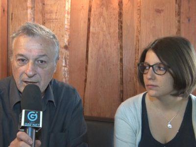 Paul Bron et Carole Billon. © Joël Kermabon - Place Gre'net