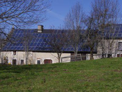 Photovoltaique dans le Vercors. © www.centralesvillageoises.fr