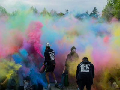 Run'Bow Colors Grenoble. © Yuliya Ruzhechka - Place Gre'Net