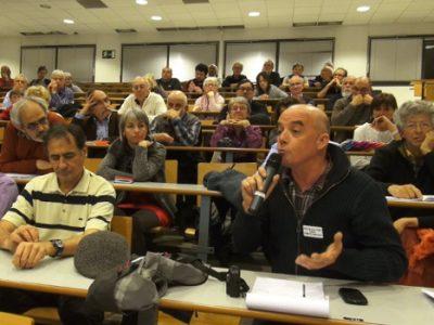 Intervention du public. © Joël Kermabon - Place Gre'net