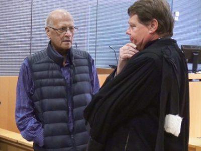 Lekhraj Gujadhur, psychiatre à la retraite et Jean-Yves Balestas, son avocat. © Joël Kermabon - Place Gre'net