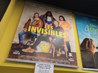 L'affiche du film Les invisibles au cinéma Le Club de Grenoble. © Joël Kermabon - Place Gre'net