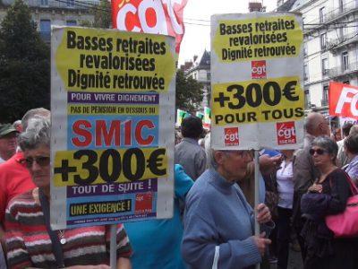 Plus d'un millier de retraités en colère ont manifesté dans les rues de Grenoble ce jeudi 28 septembre. En cause, l'augmentation de 1,7 point de la CSG.