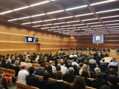 Rentrée solennelle de l'Ordre des avocats du barreau de Grenoble. © Joël Kermabon - Place Gre'net