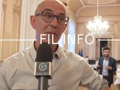 Alain Dontaine (FI) lors de la soirée électorale des européennes. © Joël Kermabon - Place Gre'net
