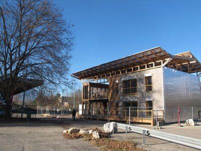 En mars 2017, Terra Nostra sera un des lieux phares de la Biennale des villes en transition, ainsi que la maison de projet de l'écocité Flaubert à Grenoble.