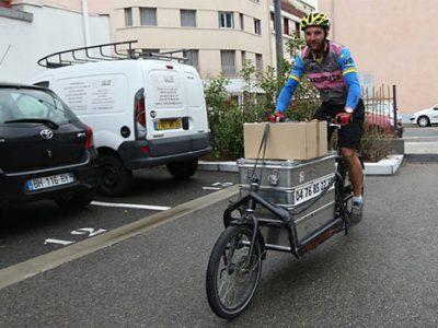 Vélocité services société de livraisons expresses à vélo sur Grenoble