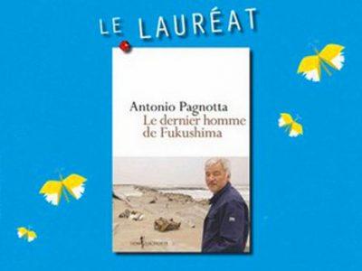 10ème prix du livre environnement pour Le dernier homme de Fukushima d'Antonio Pagnotta remis lors du salon Naturissima 2014 à Grenoble
