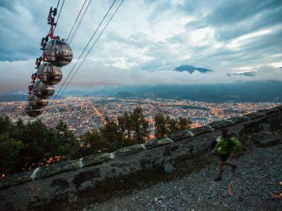 L'Ut4M, Ultra tour des 4 massifs au dessus de Grenoble est déjà devenu une référence dans le monde du trail. © Odoxo - ut4m.fr Tous droits réservés
