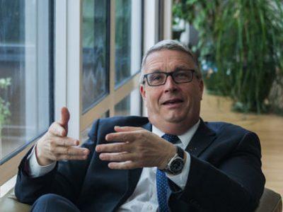 Jean-Pierre Barbier, président du Conseil départemental de l'Isère. © Yuliya Ruzhechka