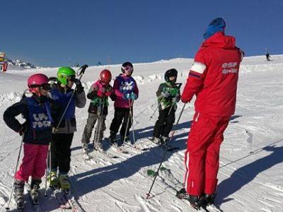 Illustration pour les premiers Jeux des sports de neige organisés par la FSGT 38 aux 7 Laux. © FSGT 38