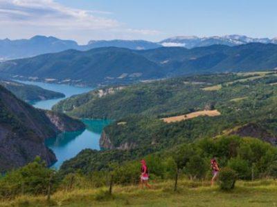 Trail des Passerelles du Monteynard. © DR