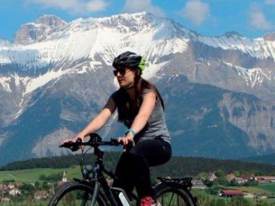 Vélo randonnée montagne une
