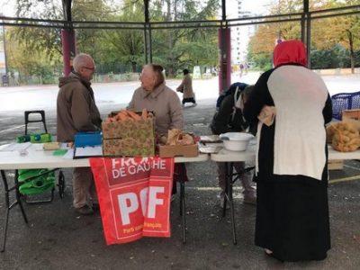 Vente solidaire fruits et légumes UNE