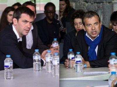 Sans réserves de voix à droite, il parait difficile pour Jean-Damien Mermillod-Blondin (centre droit) de remonter la pente face au macroniste Olivier Véran.