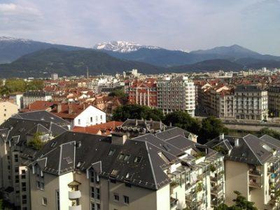 Ville Grenoble toits une