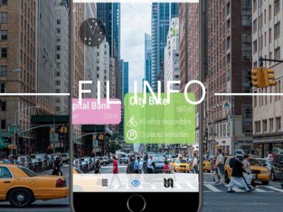 Xplora App est une application qui utilise la caméra du téléphone afin d'informer l'utilisateur en temps réel de ce qui l'entoure.