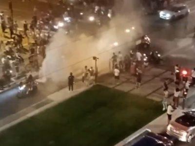Nuit agitée en centre-ville de Grenoble mardi 15 juin après la victoire des Bleus contre l'Allemagne