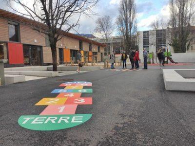 Son extension terminée, l'école Diderot de Grenoble entame la phase deux de ses travaux