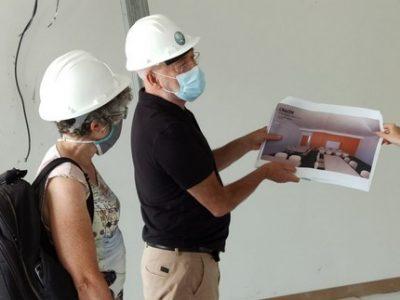 [RELU]Visite de chantier pour l'école Marianne-Cohn de Grenoble, après un nouveau report de son ouverture