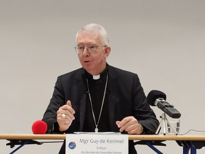 Abus sexuels dans l'Église: l'évêque du diocèse de Grenoble veut