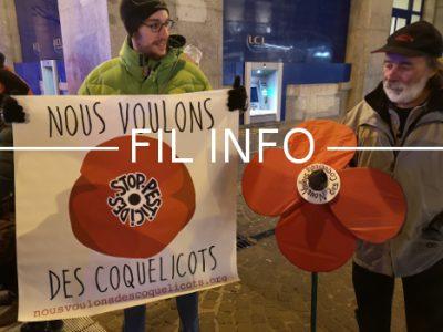 L'association de protection de la nature Le Pic Vert organise un rassemblement contre les pesticides ce vendredi 5 avril devant la mairie de La Buisse
