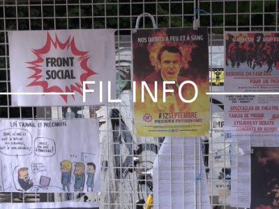 Le Front social de Grenoble se réunit en assemblée générale ce jeudi 21 septembre dans les locaux de Cap Berriat situés rue Georges Jacquet.