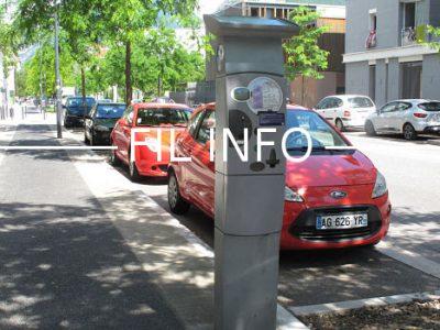 Dès le 1er janvier 2018, les usagers n'ayant pas payé, ou ayant dépassé la durée de stationnement, devront s'acquitter d'un forfait de 35 euros à Grenoble.