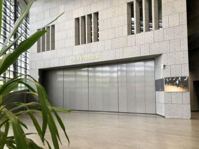 Cour d'assises du palais de justice de Grenoble. ©Manon Heckmann - Placegrenet.fr