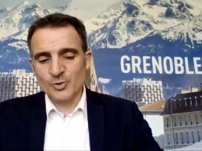 Éric Piolle conseil municipal 18 mai 2020 COUV