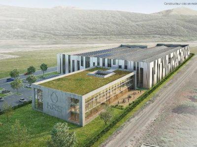 HRS annonce l'implantation d'un centre de production et de recherche sur Champagnier à l'horizon 2022-2023