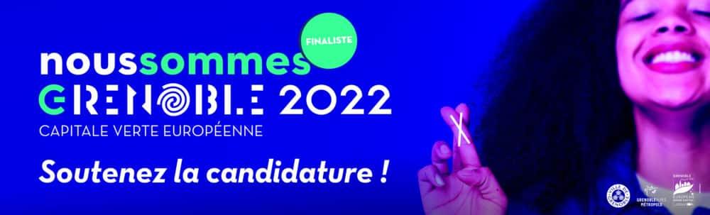 Grenoble Finaliste pour le concours de Capitale Verte