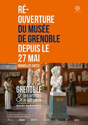 Musée de Grenoble et ses artistes du XIXe siècle