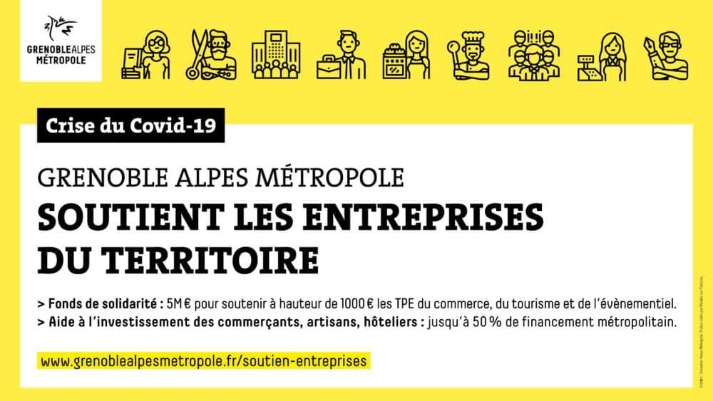 Aides aux entreprises bis - La Metro -05/2020