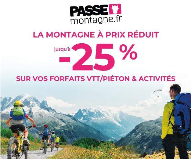 Pass montagne - La montagne à prix réduit