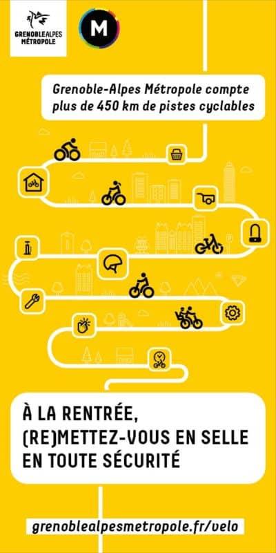 Campagne Vélo - La Métro